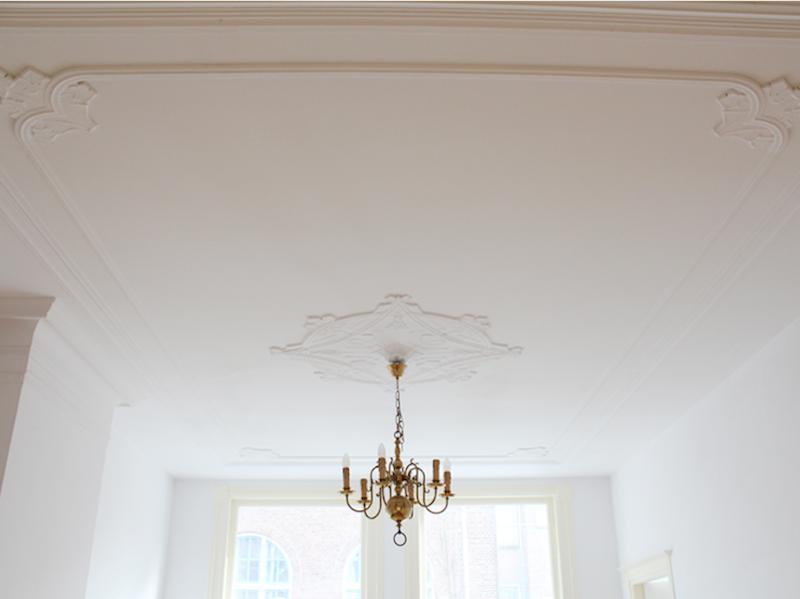 Herstellen van ornament plafond kopie